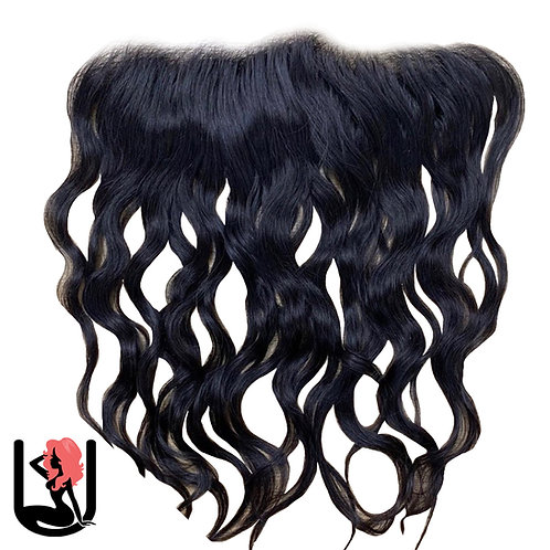 INDIAN NATURAL WAVE & CURLY (FRONTAL)