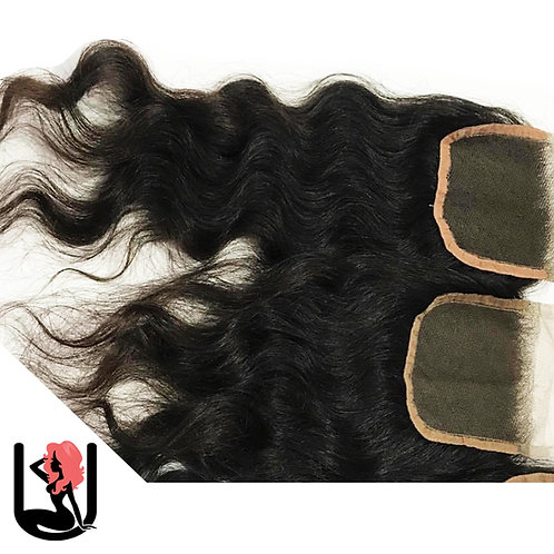 INDIAN NATURAL WAVE & CURLY (CLOSURE)
