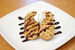Churwaffle Carmel or Chocolate Syrup
