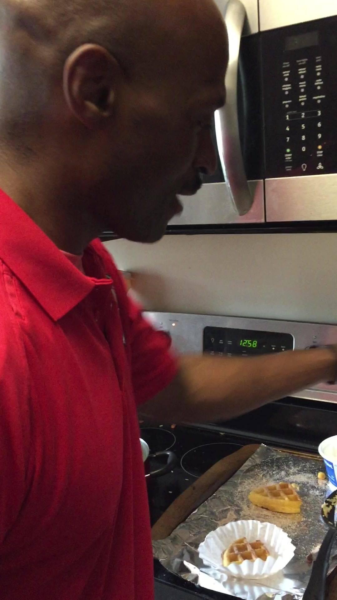 Operation Kitchen Takeover!! #ChurWaffle