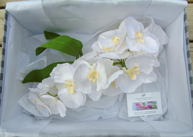 Bouquet d'orchidées pour mariage