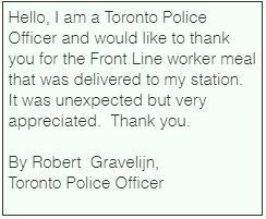 By Robert  Gravelijn, Toronto Police Off