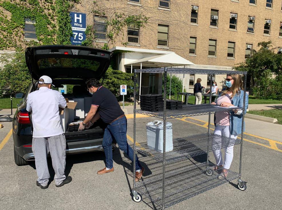 'Thank You Meals' at Sunnybrook Hospital