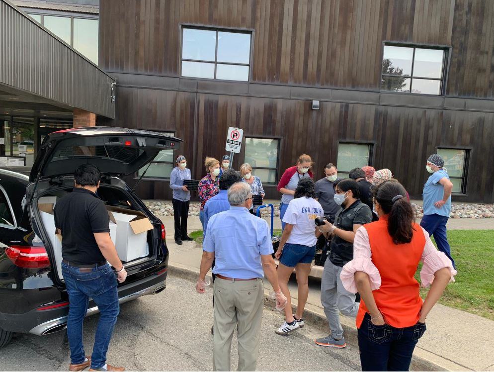CIF's Thank you Meals at Lakeridge Hospi