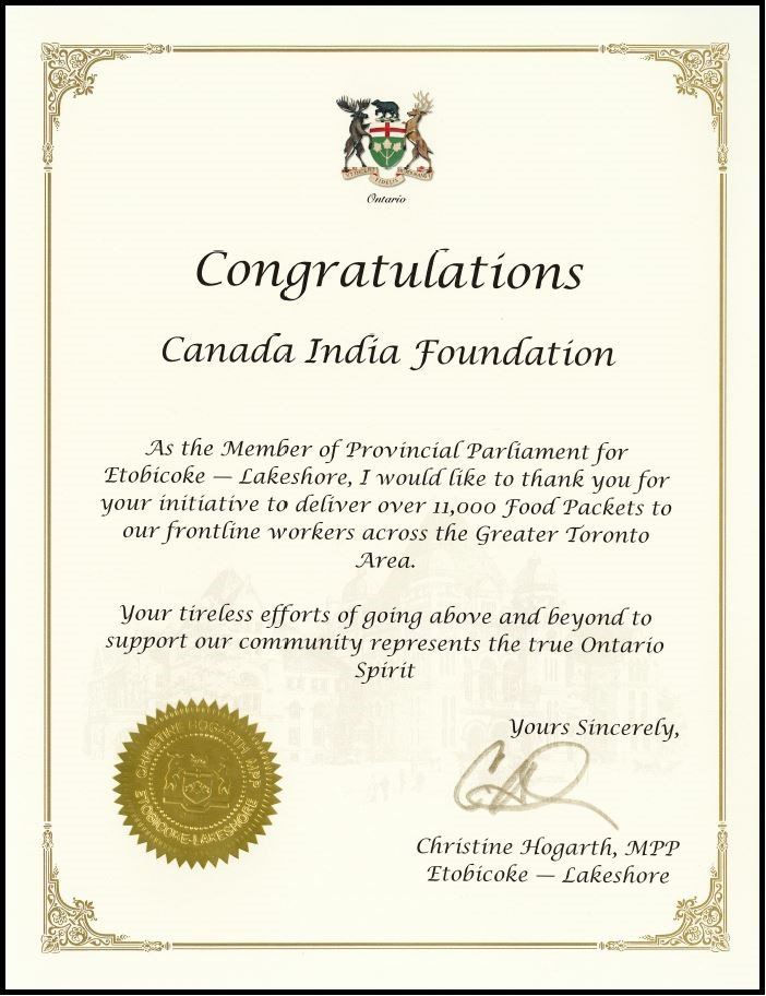 Letter of Appreciation by Christine Hoga