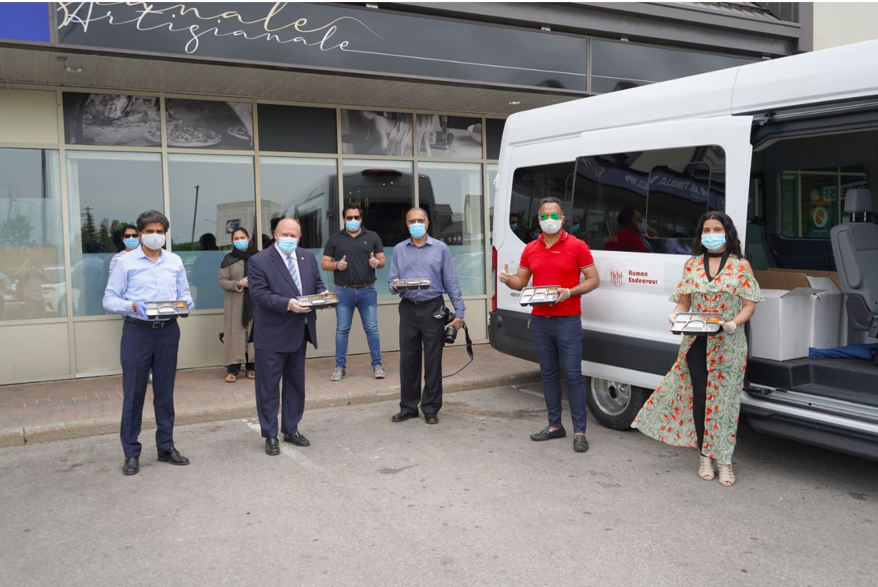 CIF Delivered food at Minister Tibollo's