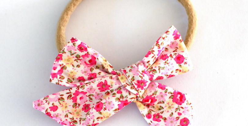 Pink Floral Sweetheart