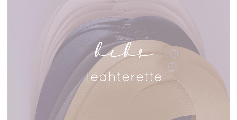Leatherette BIBS