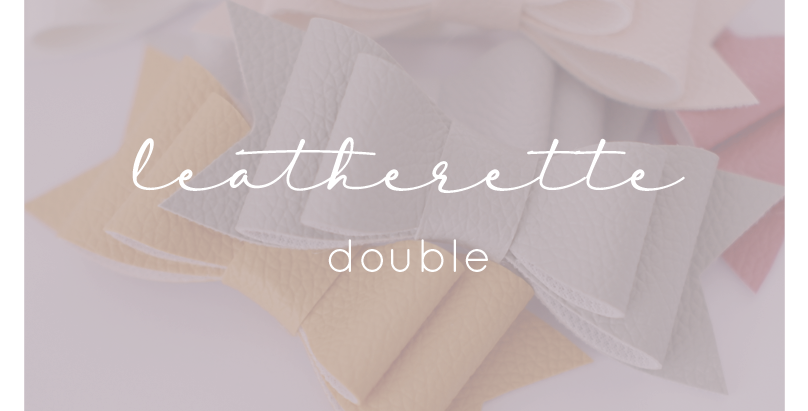 Leatherette - Double