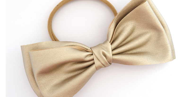Gold Faux Bow