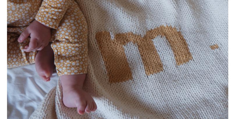 Initials Blanket