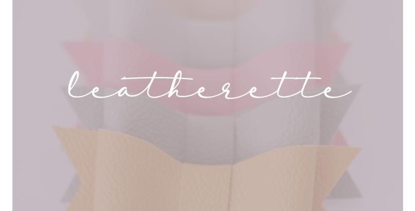 Leatherette Bows
