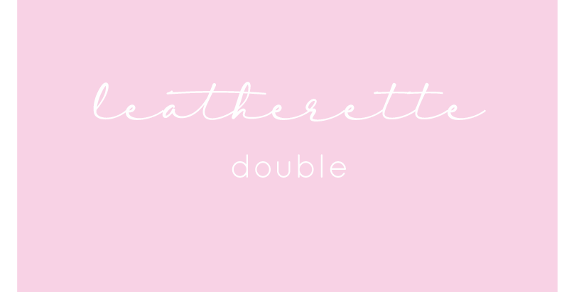 Leatherette - Double