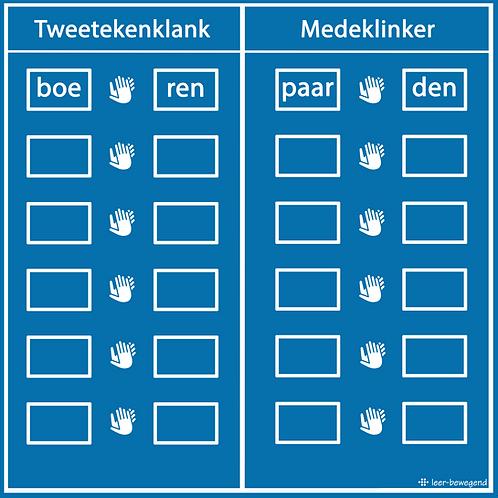 Tweetekenklank of medeklinker
