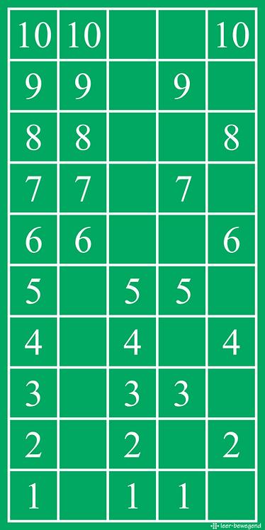 Tafelmatten (Tafel 1 t/m 10)