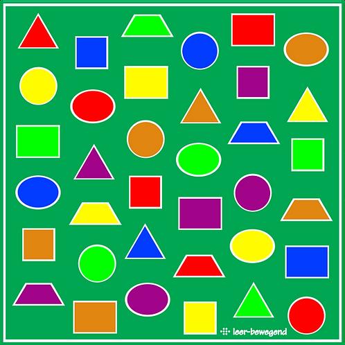 Kleurenfiguren mat