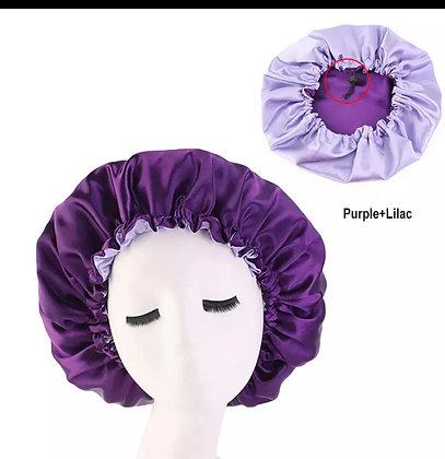 Reversible silk bonnets
