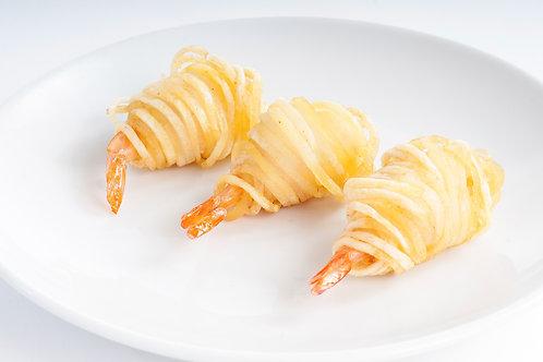 -Crevettes Pomme de terre