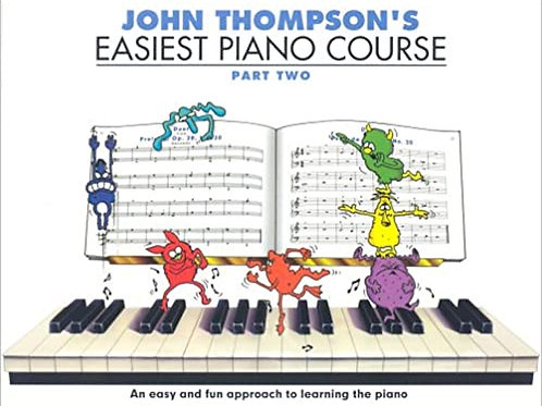BACKING TRACKS - John Thompson Book 2 (36 recordings)