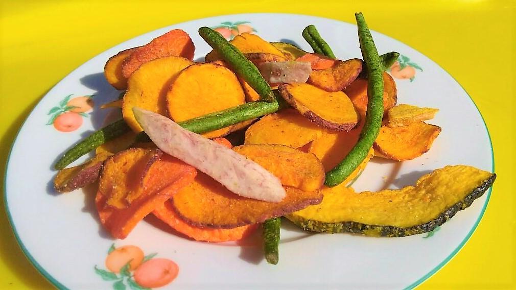 légumes chips
