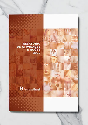 Relatorio anual de atividades Psoríase Brasil - 2020