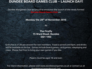 First Board Games Club Date Confirmed!