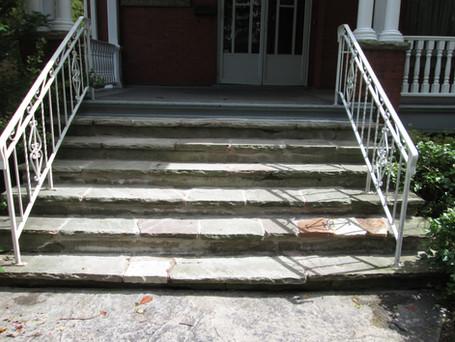 flag stone steps