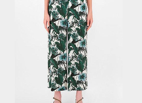 Weekend MaxMara  - Silk Crepe de Chine Trousers