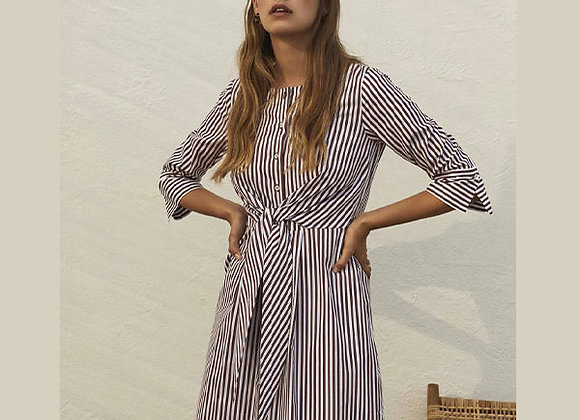Rosso35 - Purple Striped Dress