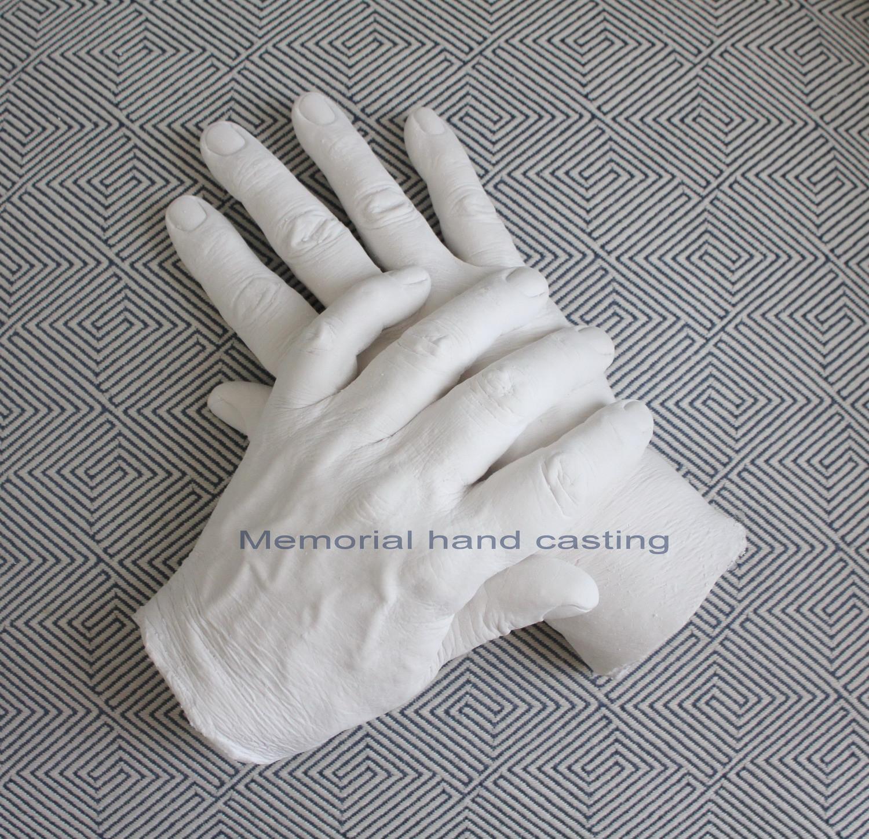 3D Adult Memorial Hand Castings