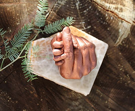 Nicole's finished copper hand cast.jpg