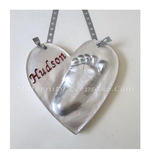 Newborn Foot Impression Ornament