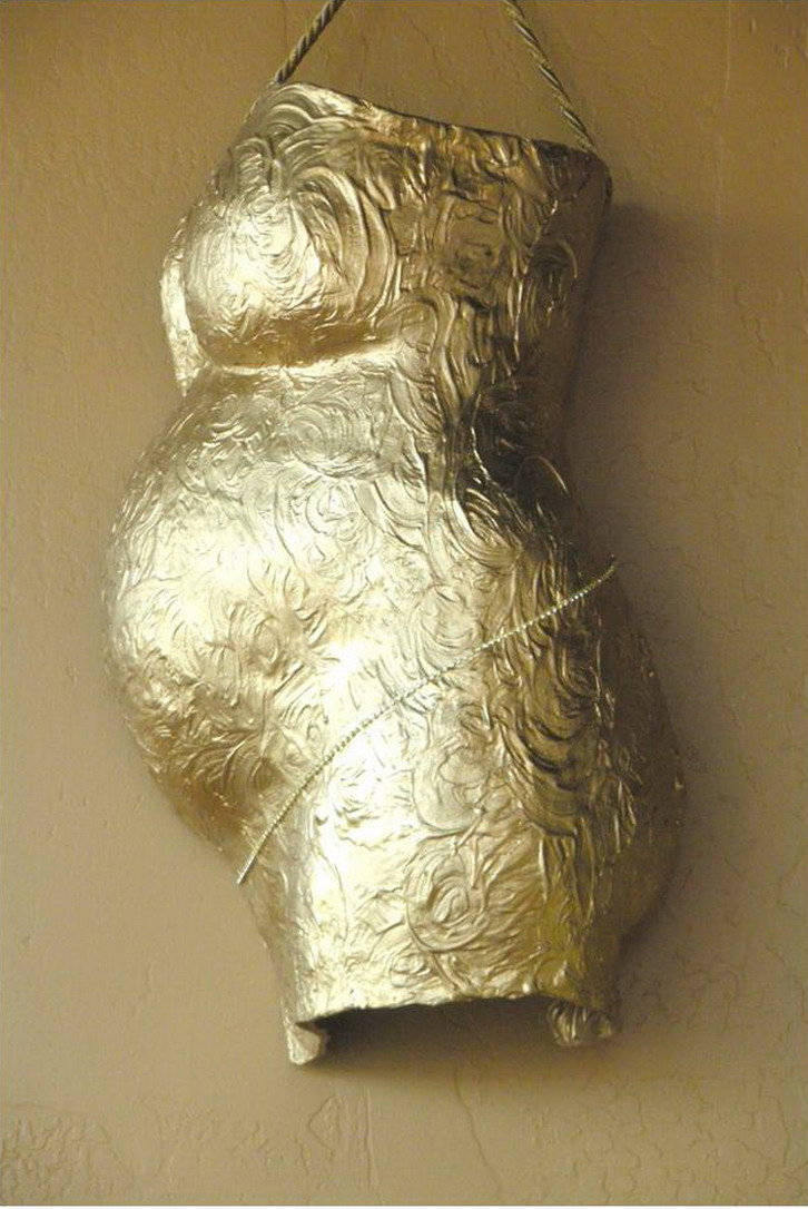 Side Profile Preserved Belly Cast