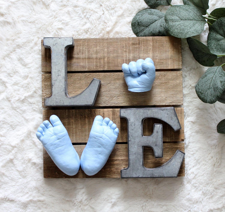 Newborn Hand & Feet Plaque