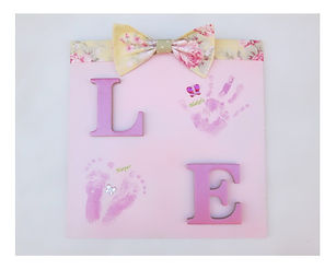Pink love plaque with hand and feet.jpg