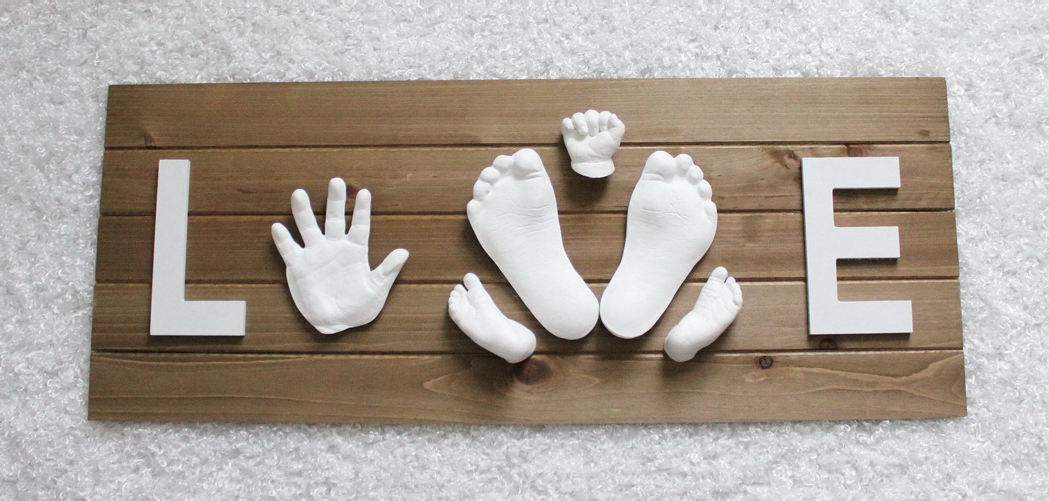 Toddler 2D Hand and Foot Impressions
