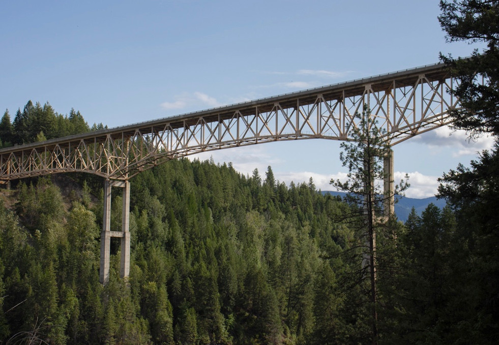 Moyie Bridge, Moyie Springs, USA