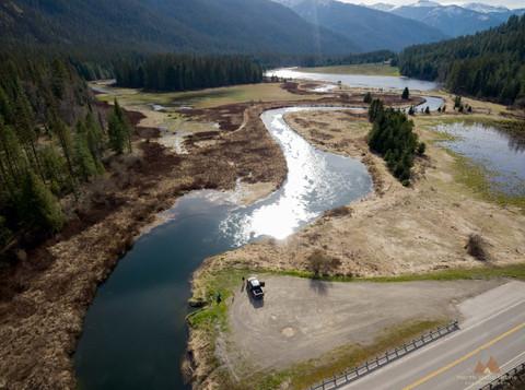 Bull River, Montana, USA