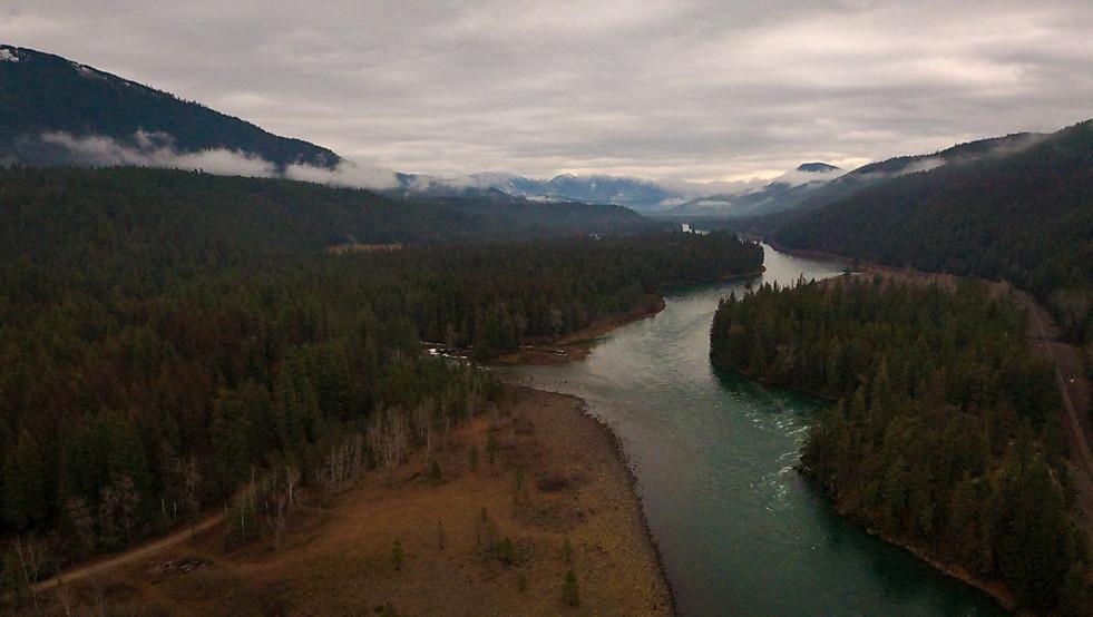 Kootenai River, Montana, USA