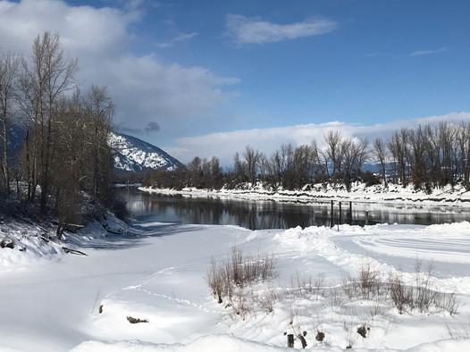 Kootenai River, Bonners Ferry, Idaho, USA