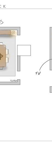 Studio City Furniture Plan