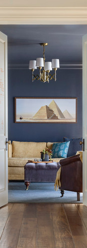 doorway to guest study interior design