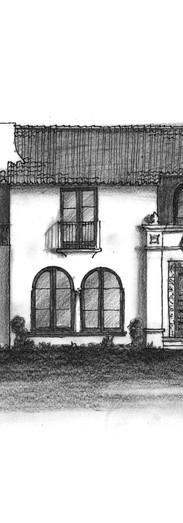 Exterior illustration for Tim Barber Ltd.