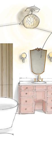 Girl's Bath for Tim Barber Ltd.