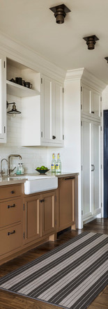 masculine tailored custom kitchen