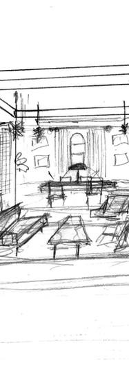 Concept Sketch Jonathan Club santa monica