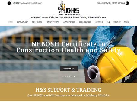 Website Redesign - Dorset Health and Safety Ltd