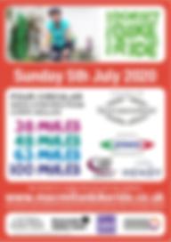 Macmillan Dorset Bike Ride 2020 Poster