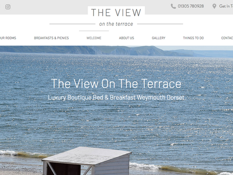 THE VIEW ON THE TERRACE B&B WEBSITE LAUNCH
