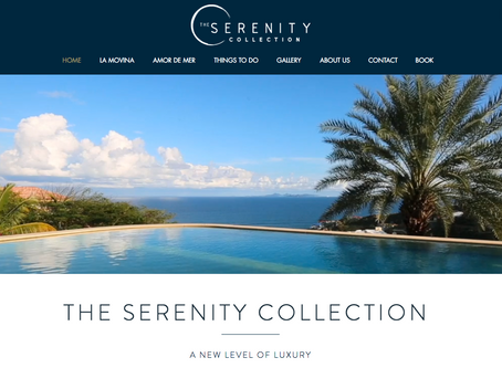 2 Luxury Villa's in St Martin sleeping 12 and 8 - Website build by weCREATE